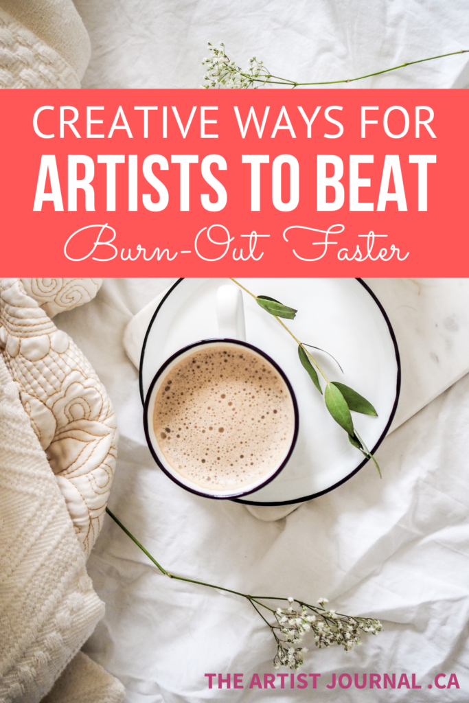 Creative Ways To Beat Artist's Block in red